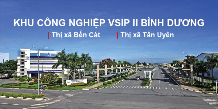 Tổng quy mô của KCN VSIP 2 lên tới 1000ha