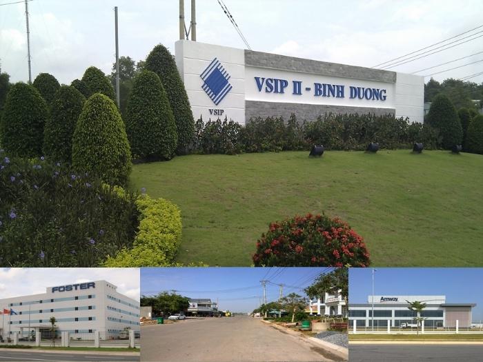Quy mô xây dựng của khu công nghiệp VISIP 2B rất rộng lớn với 1000ha